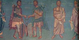 «Ο Πελοπίδας, Επαμεινώνδας, Δημοσθένης, Αριστοτέλης.»